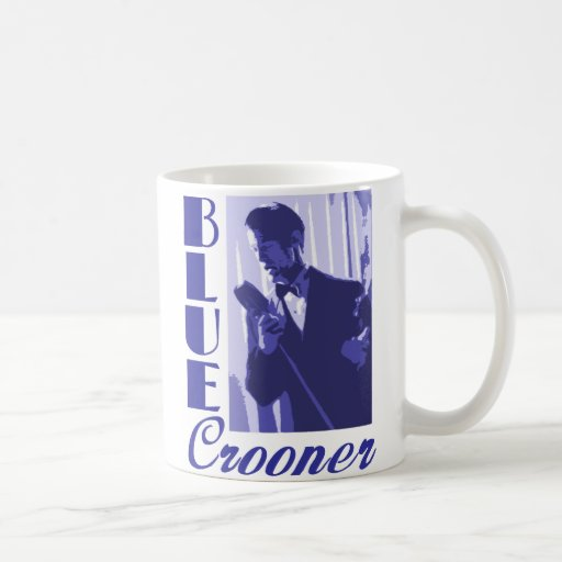 Blue Crooner Mug