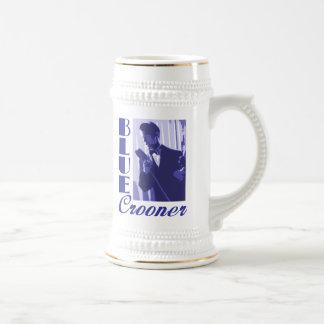 Blue Crooner Stein Mugs