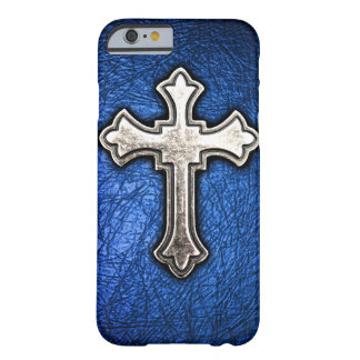 Blue Cross Barely There iPhone 6 Case