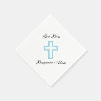 """Blue Cross"" Napkins"