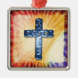 Blue Cross Ornament