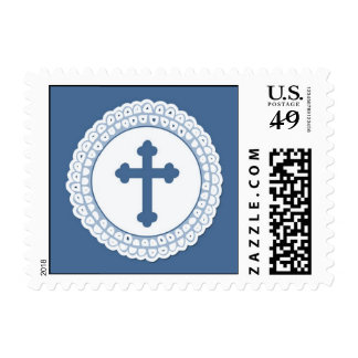 Blue Cross Small Stamp