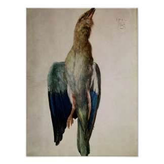 Blue Crow, 1512 Poster