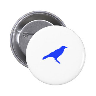 Blue Crow Button