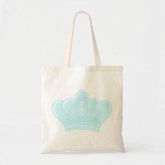 Blue Crown Budget Tote Bag