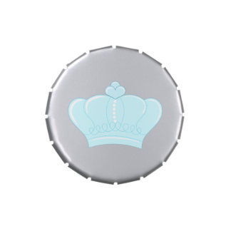 Blue Crown Jelly Belly Tin