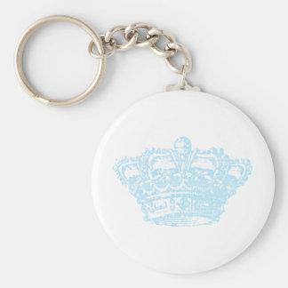 Blue Crown Keychain