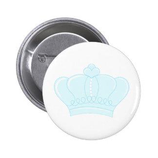 Blue Crown Pin