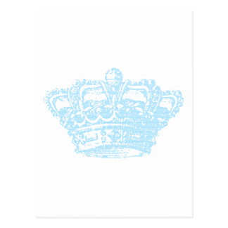 Blue Crown Post Card