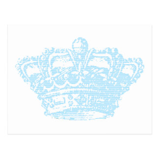 Blue Crown Post Cards