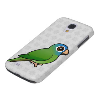 Blue-crowned Conure Samsung Galaxy S4 Cases