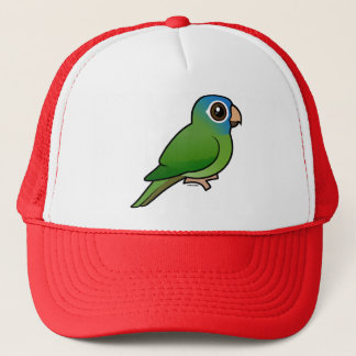 Blue-crowned Conure Trucker Hat