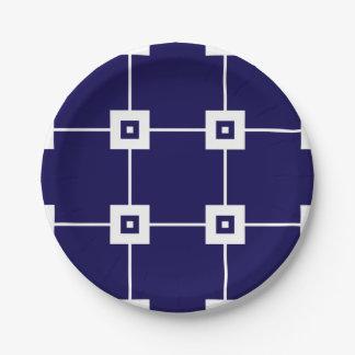 Blue Crush No. 4 Paper Plate