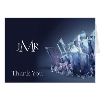 Blue Crystal 15th Anniversary Thank You