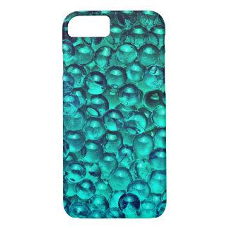 Blue crystal balls texture iPhone 7 case