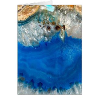 blue crystal card