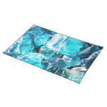 Blue Crystal Chunks Placemats