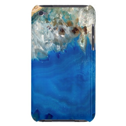 blue crystal iPod touch cover