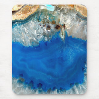 blue crystal mouse pad