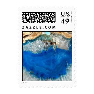 blue crystal postage stamps