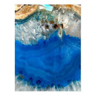 blue crystal postcard