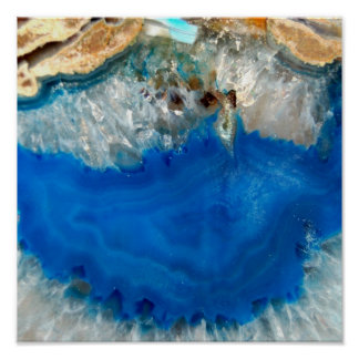 blue crystal poster
