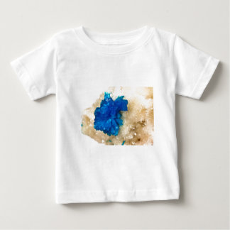 Blue Crystal Rock Hound Collector Gemology Baby T-Shirt
