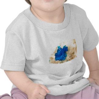 Blue Crystal Rock Hound Collector Gemology T Shirts