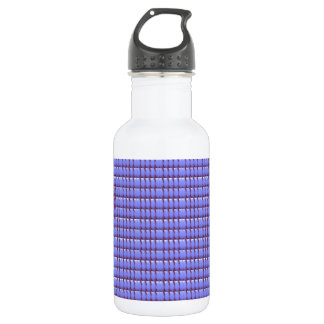 BLUE Crystal Template 18oz Water Bottle