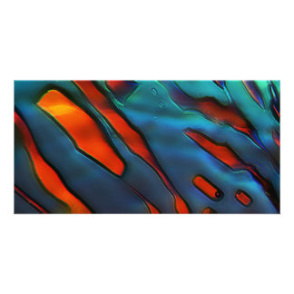 Blue Crystals, Copper Sulfate Card
