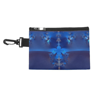 Blue Crystals Fractal Accessories Bags