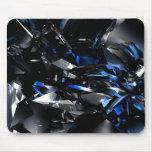 Blue crystals Mousepad