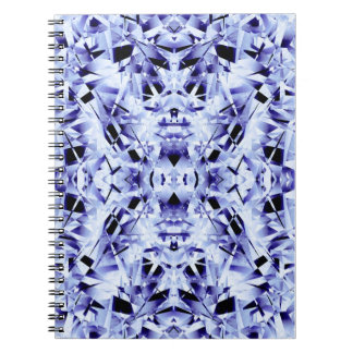 Blue Crystals Notebook