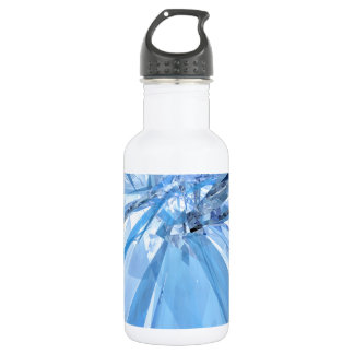 Blue Crystals Water Bottle