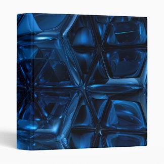Blue Cubes Avery Binder
