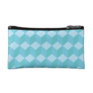 Blue Cubes Cosmetics Bags