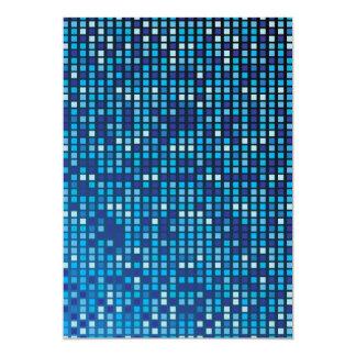 Blue Cubes Card