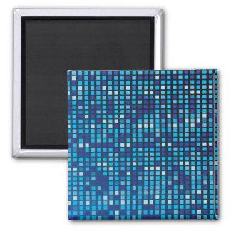 Blue Cubes Magnets