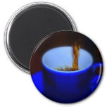 Blue Cup 2 Magnets