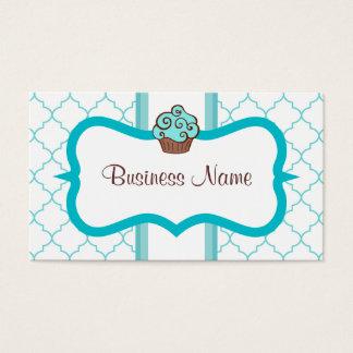 Blue Cupcake Business Card