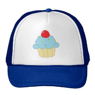 Blue Cupcake Trucker Hat