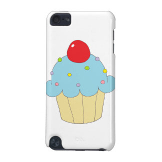 Blue Cupcake iPod Touch (5th Generation) Cover