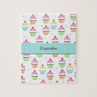 Blue Cupcake Puzzle