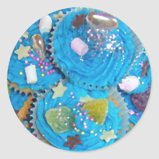 Blue Cupcakes sticker