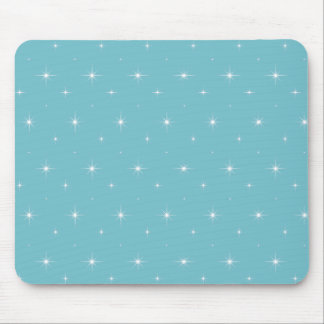 Blue-Curacao-And-Bright-Stars-Elegant-Pattern Mousepads