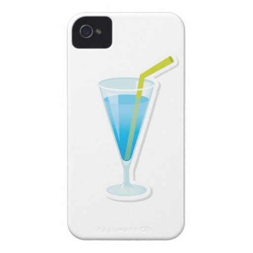 Blue curacao cocktail Case-Mate iPhone 4 case
