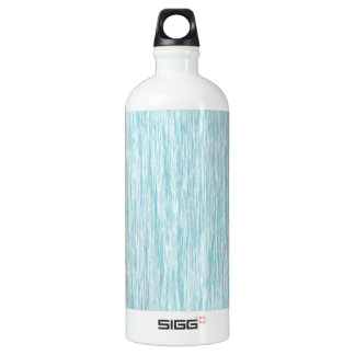 Blue-Curacao-Fibers-Pattern Aluminum Water Bottle