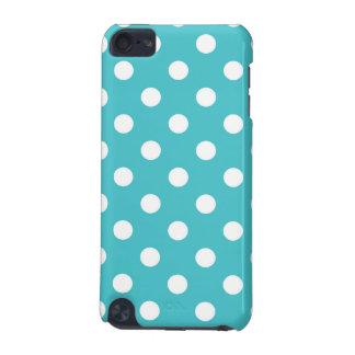 Blue Curacao Polka Dot Ipod Case iPod Touch 5G Case