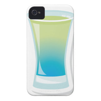 Blue Curacao shotglass Case-Mate iPhone 4 Case