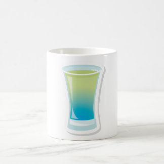 Blue Curacao shotglass Coffee Mug